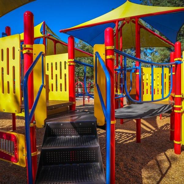 Playground stairs
