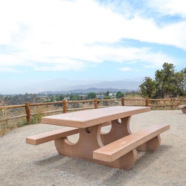 Adobe picnic tables