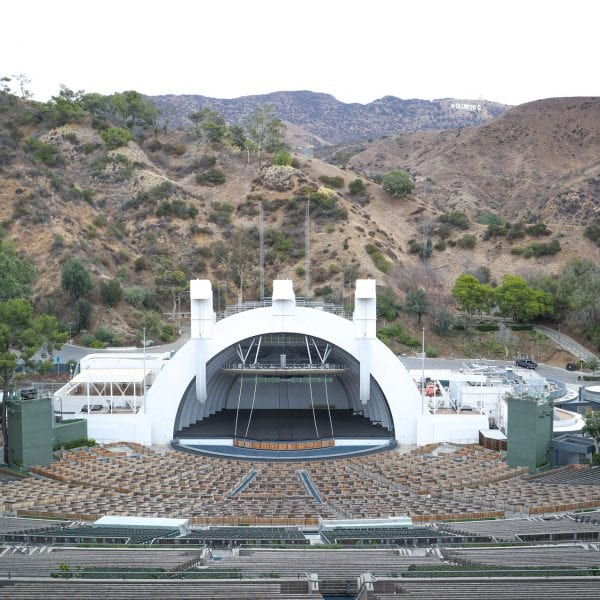 View of amphitheater from bleachers