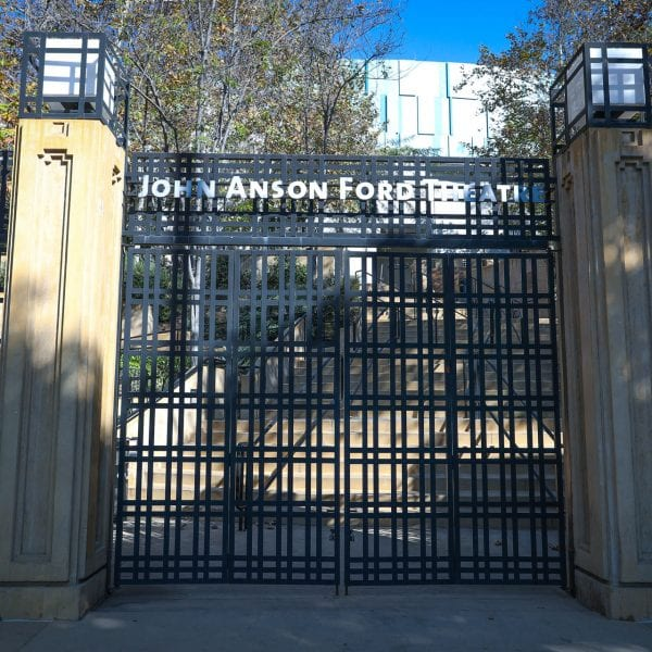 John Anson Ford gate