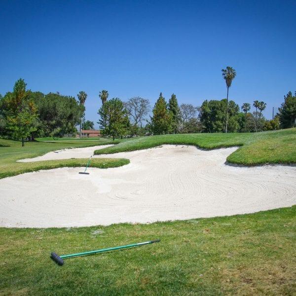Large sand trap