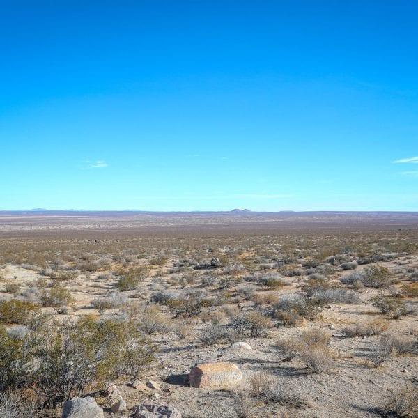 Far reaching desert