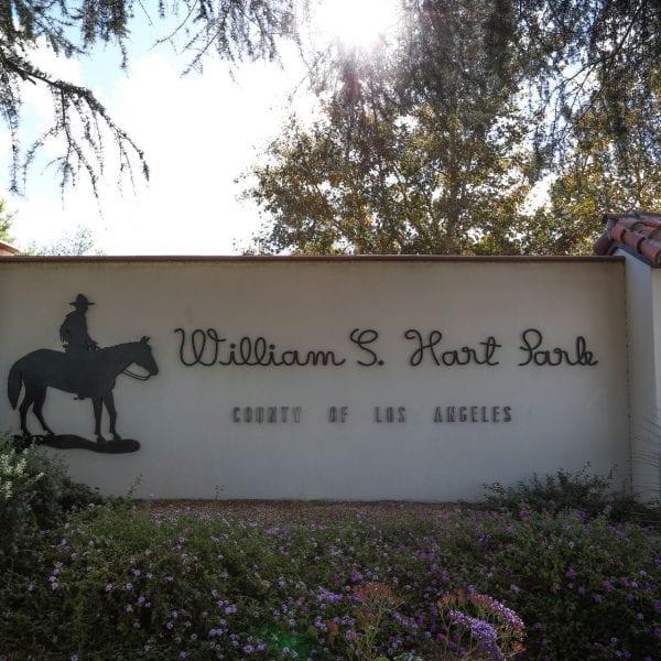 William S. Hart Regional Park sign
