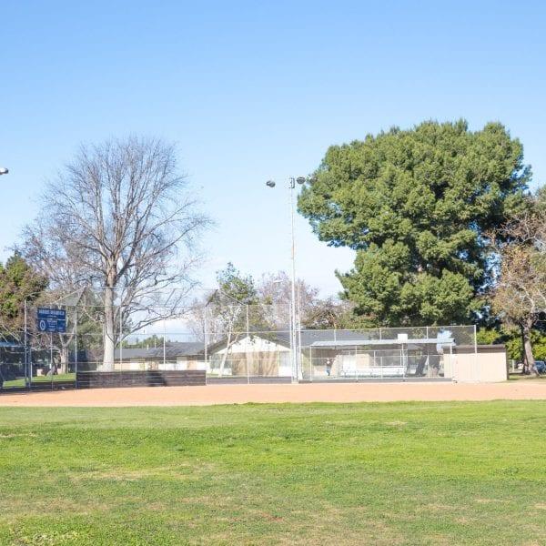 Athens Park whole baseball field