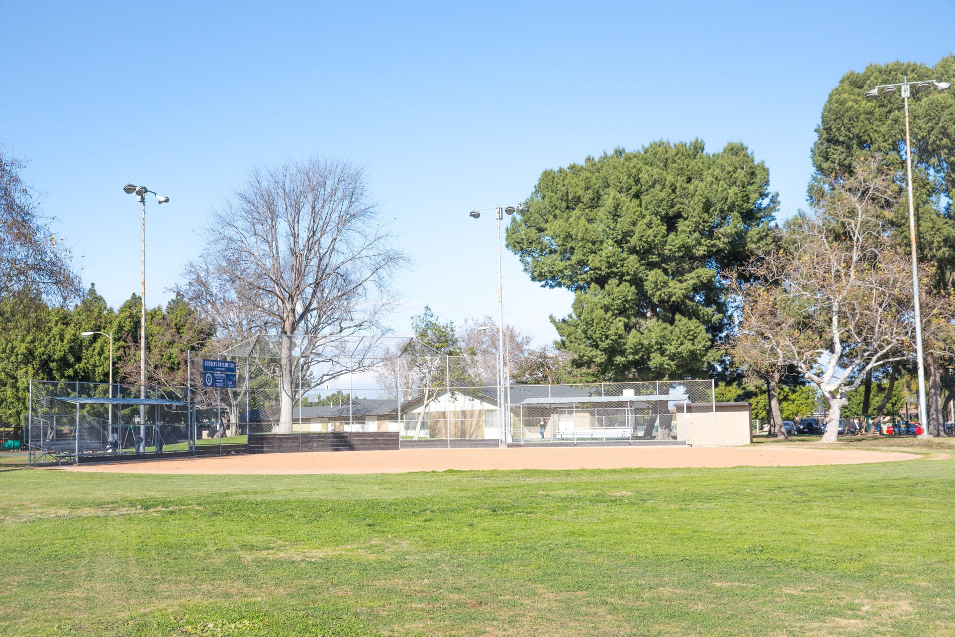 Athens Park whole baseball field