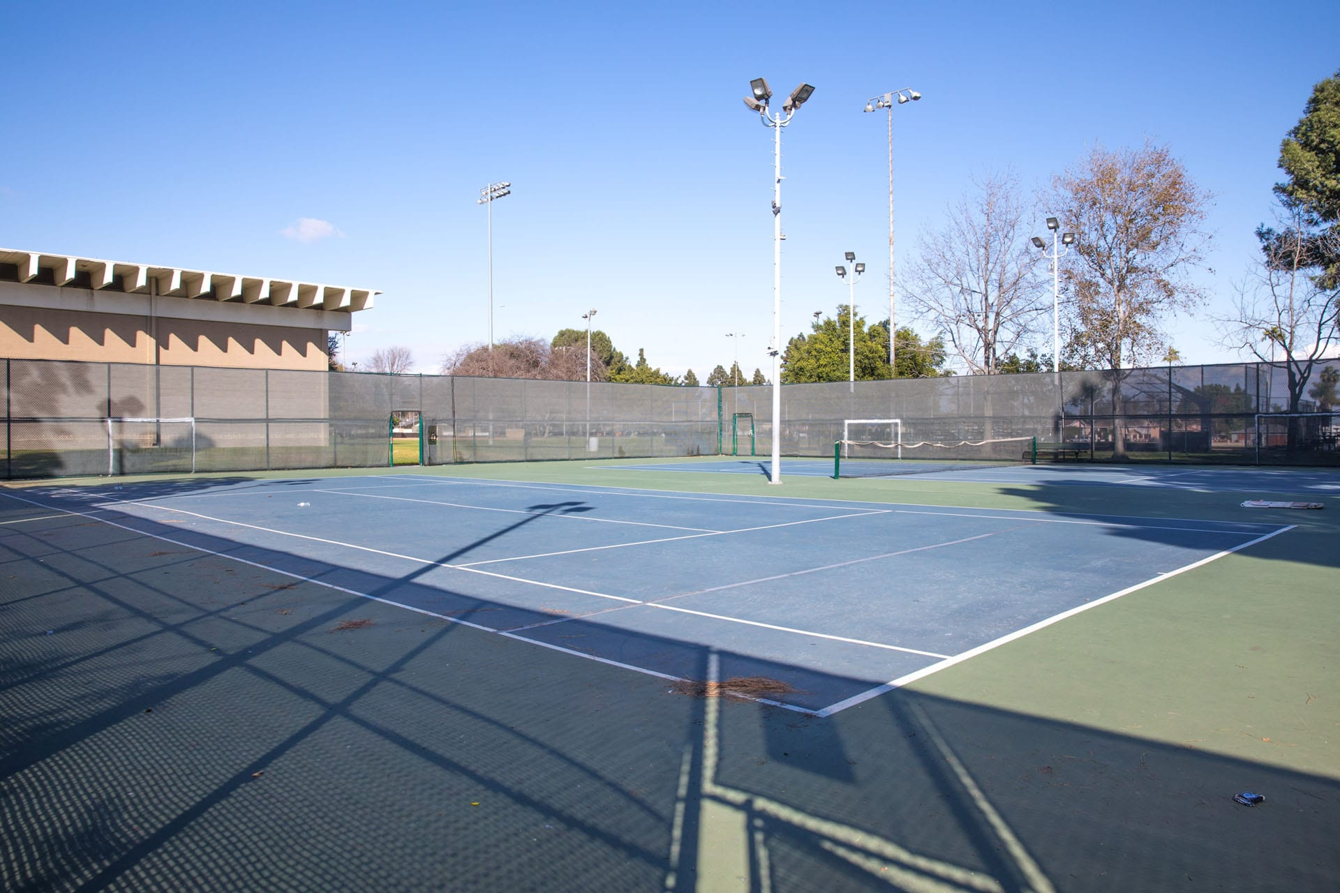 Athens Park tennis courts