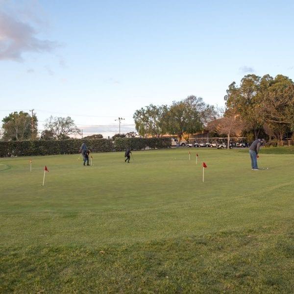 Chester Washington Golf Course putting green