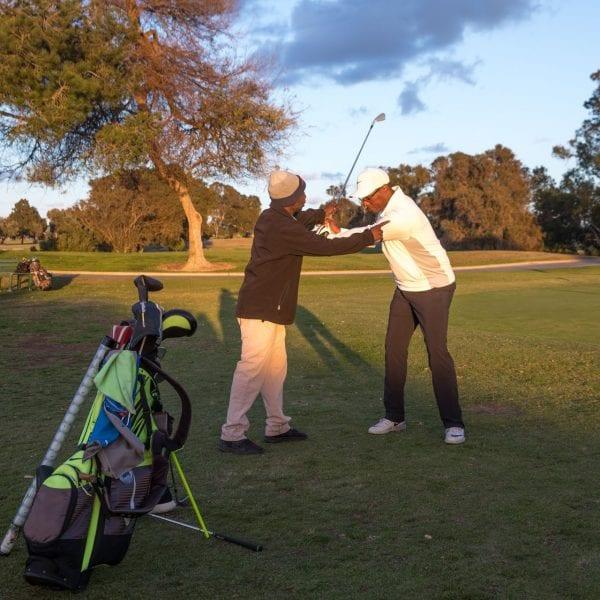 Chester Washington Golf Course golf training