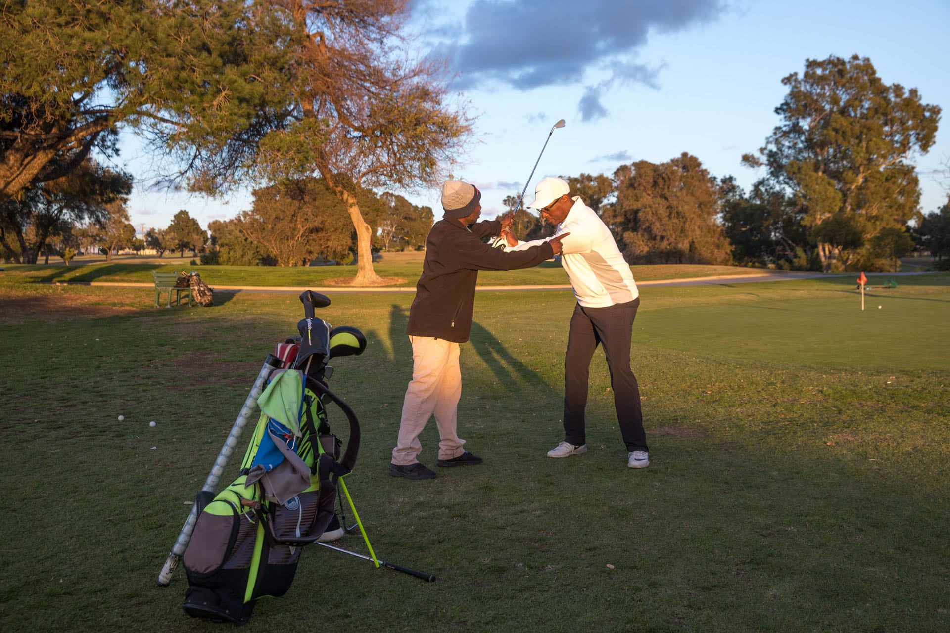 Chester Washington Golf Course golf training