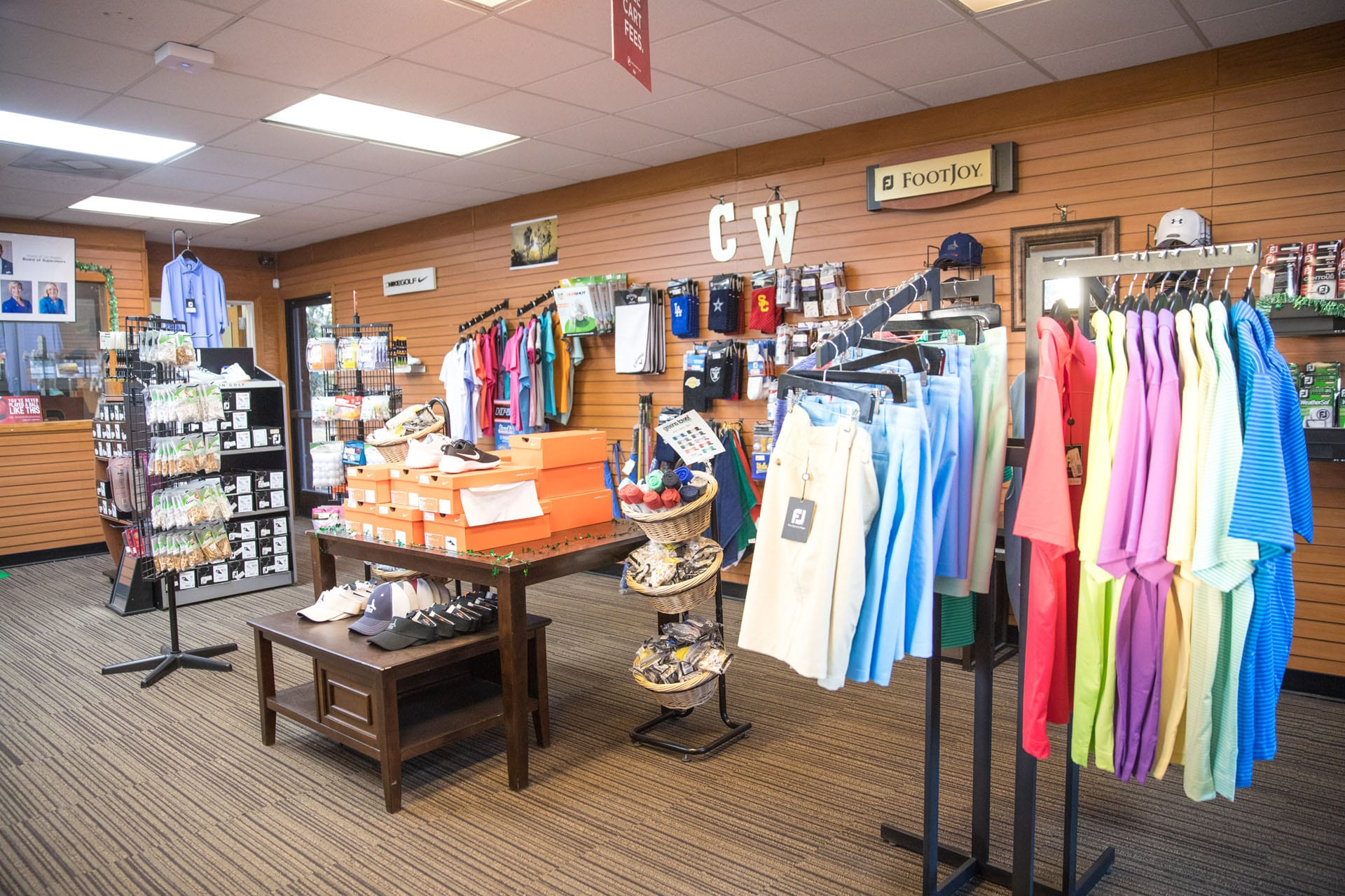 Chester Washington Golf Course pro shop