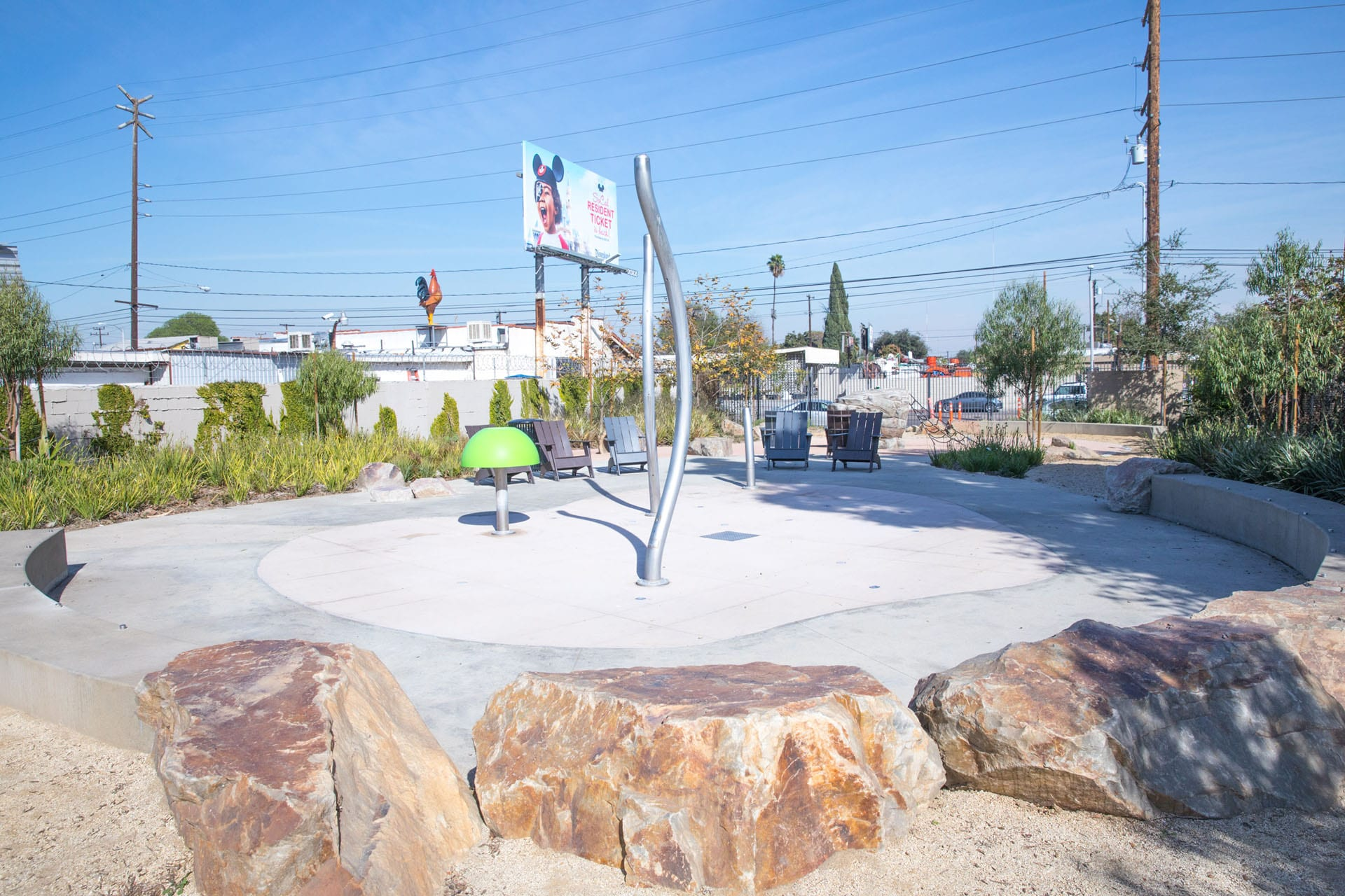 Washington Avenue Park splash pad